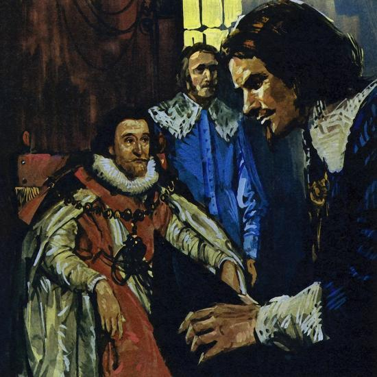 Van Dyck Came to the Attention of the Earl of Arundel Who Introduced Him to King James I-Luis Arcas Brauner-Giclee Print