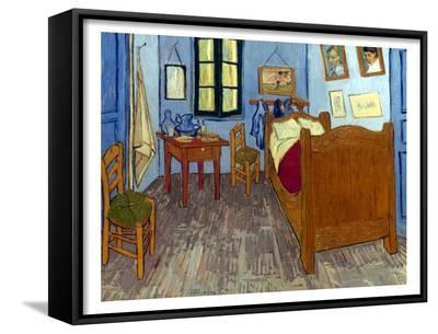 Van Gogh: Bedroom, 1889-Vincent van Gogh-Framed Art Print