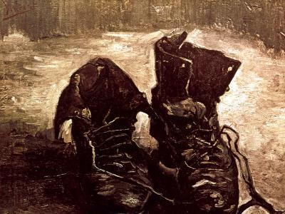 Van Gogh: Boots, 1886-Vincent van Gogh-Giclee Print