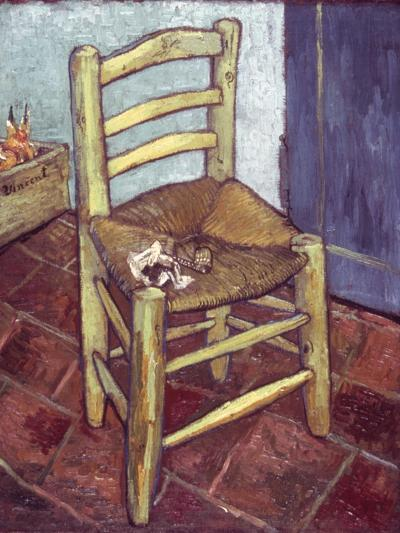 Van Gogh: Chair, 1888-89-Vincent van Gogh-Giclee Print