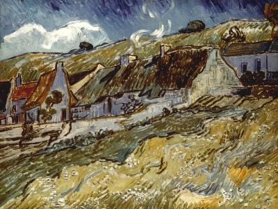 Van Gogh: Cottages, 1890-Vincent van Gogh-Giclee Print