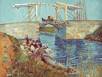 Van Gogh: Drawbridge, 1888-Vincent van Gogh-Giclee Print