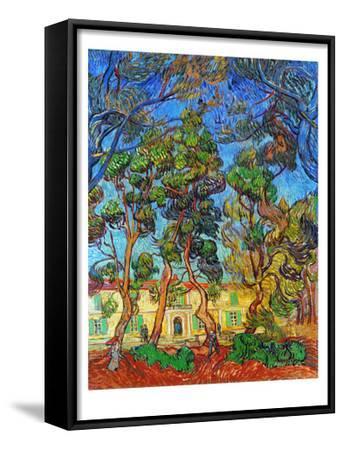Van Gogh: Hospital, 1889-Vincent van Gogh-Framed Art Print