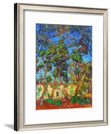 Van Gogh: Hospital, 1889-Vincent van Gogh-Framed Giclee Print