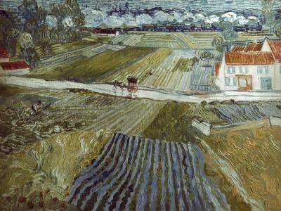 Van Gogh: Landscape, C1888-Vincent van Gogh-Giclee Print