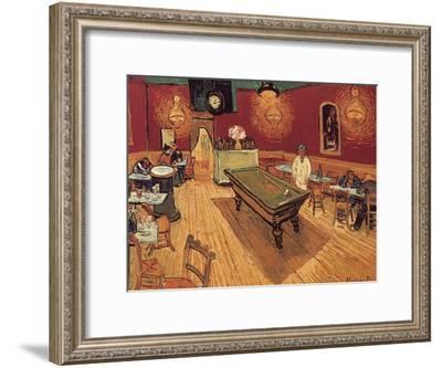Van Gogh: Night Cafe, 1888-Vincent van Gogh-Framed Giclee Print