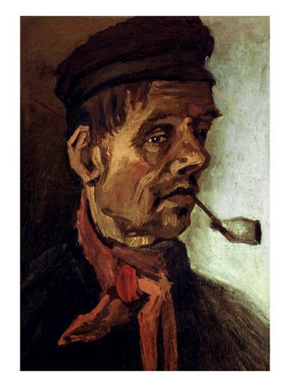 Van Gogh: Peasant, 1884-Vincent van Gogh-Giclee Print