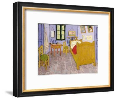 Van Gogh's Bedroom at Arles, 1889-Vincent van Gogh-Framed Premium Giclee Print
