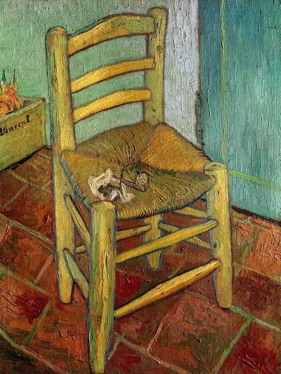 Van Gogh's Chair, c.1888-Vincent van Gogh-Giclee Print