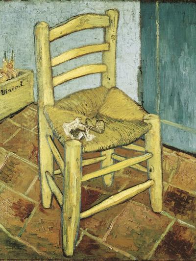Van Gogh's Chair-Vincent van Gogh-Art Print