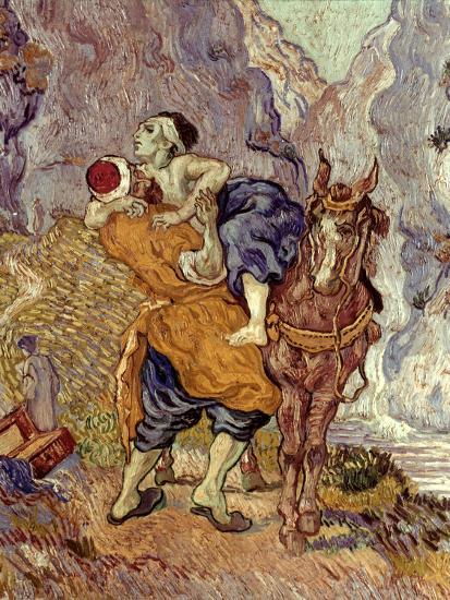 Van Gogh: Samaritan, 1890-Vincent van Gogh-Premium Giclee Print