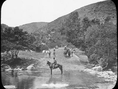 Van Stadens Pass, South Africa, C1890--Photographic Print