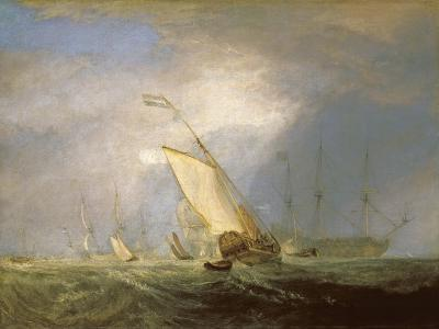 Van Tromp Returning after the Battle Off the Dogger Bank-J^ M^ W^ Turner-Giclee Print