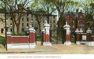 Van Wickle Gate, Brown University, Providence, Rhode Island