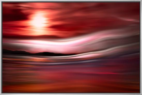 Vancouver Evening-Ursula Abresch-Framed Canvas Print