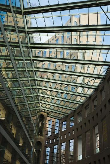 Vancouver Public Library, Vancouver, British Columbia, Canada-Walter Bibikow-Photographic Print