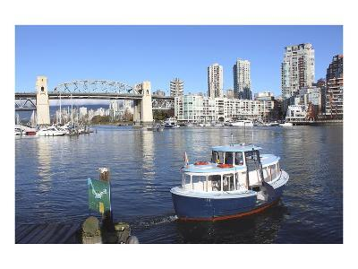 Vancouver's False Creek Ferry--Art Print