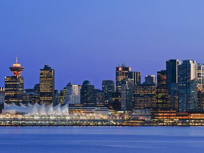 Vancouver Skyline, Vancouver, British Columbia, Canada-Rob Tilley-Photographic Print