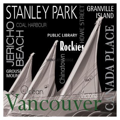 Vancouver--Art Print