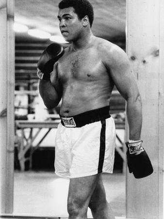 Boxing Great Muhammad Ali
