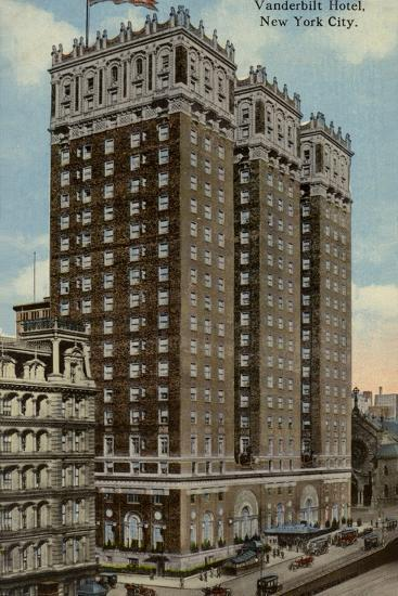 Vanderbilt Hotel, New York City, Usa--Photographic Print