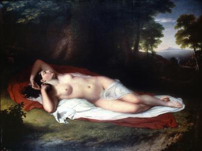 Vanderlyn: Ariadne Asleep-John Vanderlyn-Giclee Print
