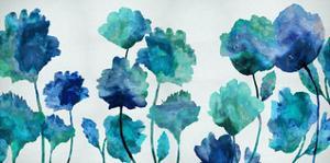 Aqua Blossom by Vanessa Austin