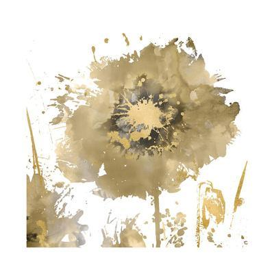 Flower Burst in Gold I
