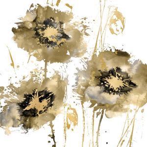 Flower Burst Trio in Gold by Vanessa Austin