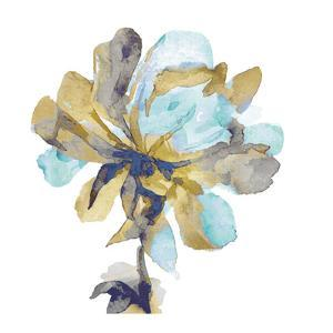 Fresh Bloom Aqua I by Vanessa Austin