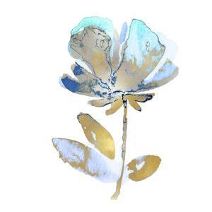 Fresh Bloom Aqua II by Vanessa Austin