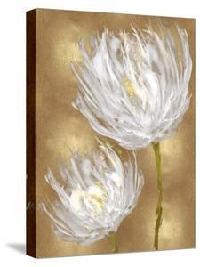 Tulips on Gold II by Vanessa Austin