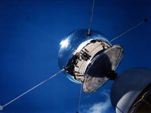 Vanguard Satellite SLV-2 Is Being Checked Out at Cape Canaveral, Florida