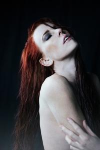 Woman with Wet Hair by Vania Stoyanova