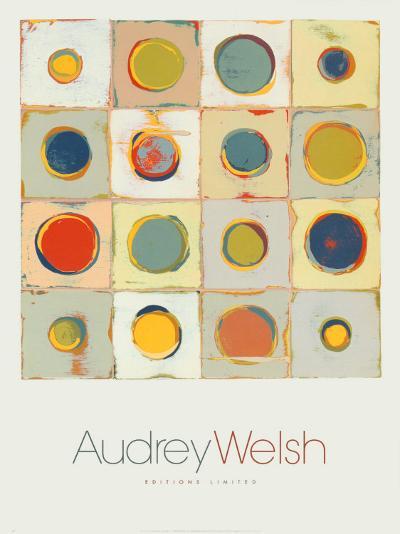 Vanilla with Fresh Blueberries-Audrey Welch-Art Print