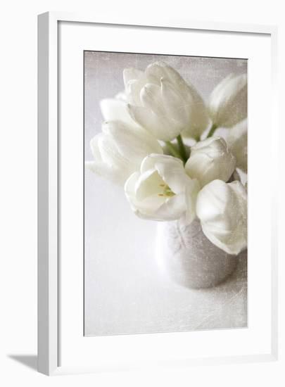 Vanishing in the White Elegance-Sarah Gardner-Framed Photographic Print