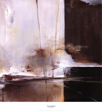 Vanishing Train-Terri Burris-Art Print