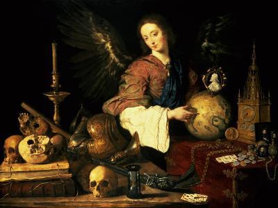 Vanitas, circa 1634-Antonio Pereda y Salgado-Giclee Print