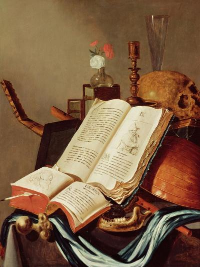Vanitas Still Life-Edwaert Collier-Giclee Print