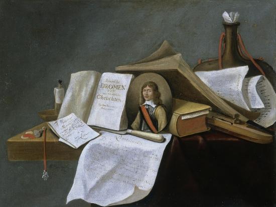 Vanitas Still-Life-Pietro da Cortona-Giclee Print