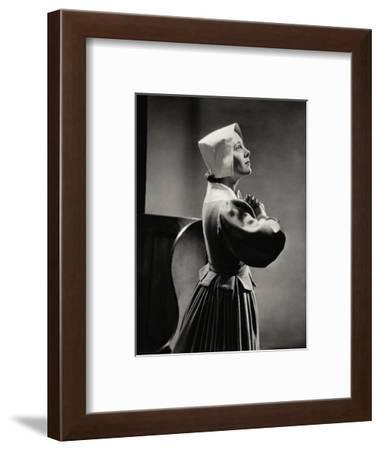 Vanity Fair - April 1934-Lusha Nelson-Framed Premium Photographic Print