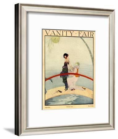 Vanity Fair Cover - August 1919-Rita Senger-Framed Premium Giclee Print