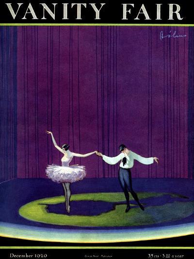 Vanity Fair Cover - December 1920-William Bolin-Premium Giclee Print