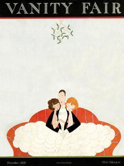 Vanity Fair Cover - December 1921-A. H. Fish-Premium Giclee Print