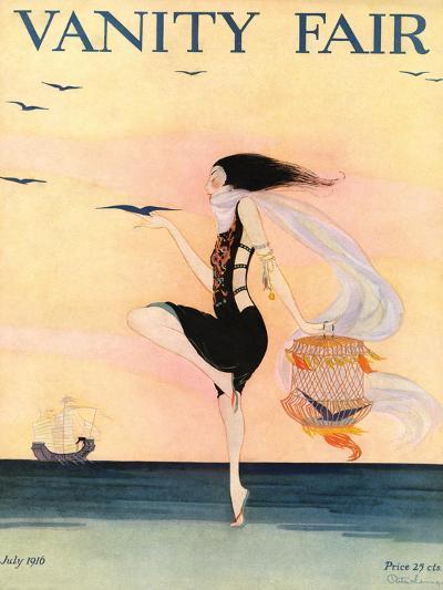 Vanity Fair Cover - July 1916-Rita Senger-Premium Giclee Print