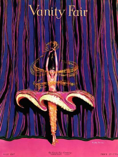 Vanity Fair Cover - July 1917-Dorothy Ferriss-Premium Giclee Print