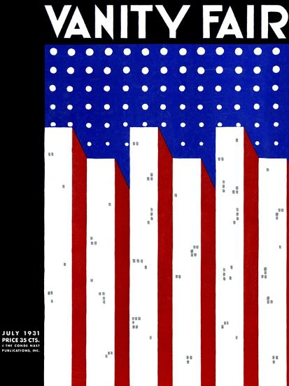 Vanity Fair Cover - July 1931-Lieber-Premium Giclee Print