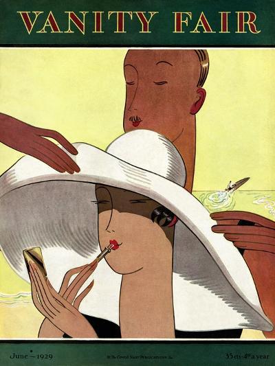 Vanity Fair Cover - June 1929-Marion Wildman-Premium Giclee Print