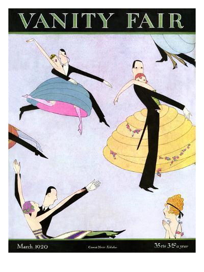 Vanity Fair Cover - March 1920--Premium Giclee Print