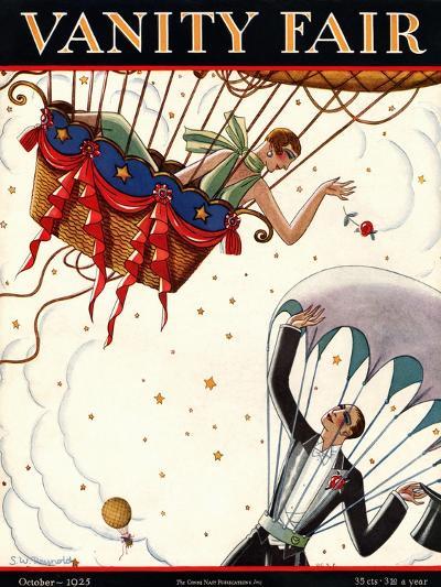 Vanity Fair Cover - October 1925-Stanley W. Reynolds-Premium Giclee Print